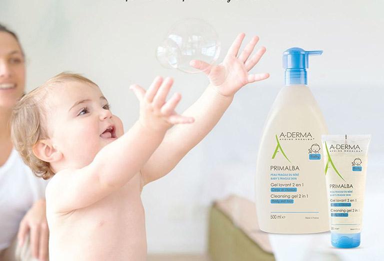 sữa tắm cho người bị viêm da cơ địa