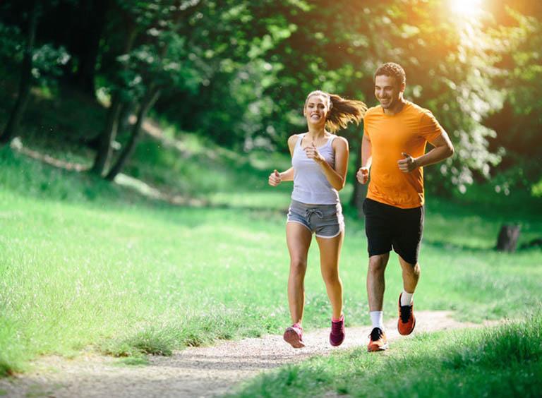 Tập luyện thể dục thể thao giúp giải tỏa căng thẳng và nâng cao sức đề kháng