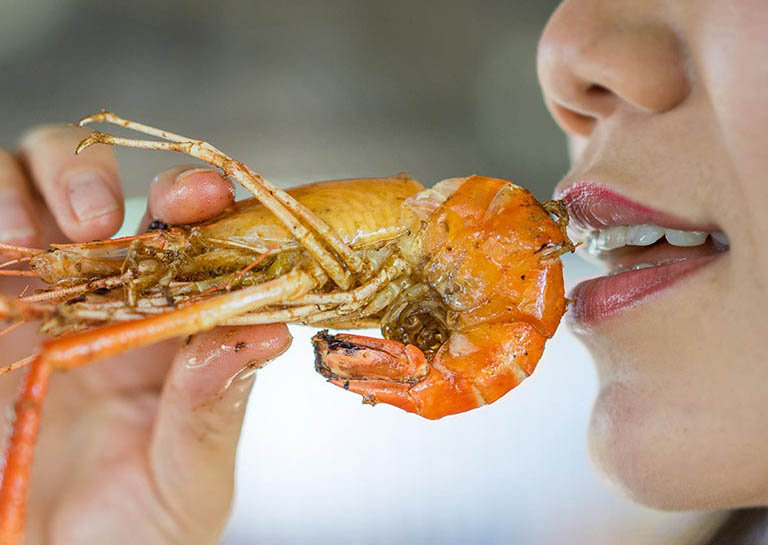 dị ứng hải sản kéo dài bao lâu