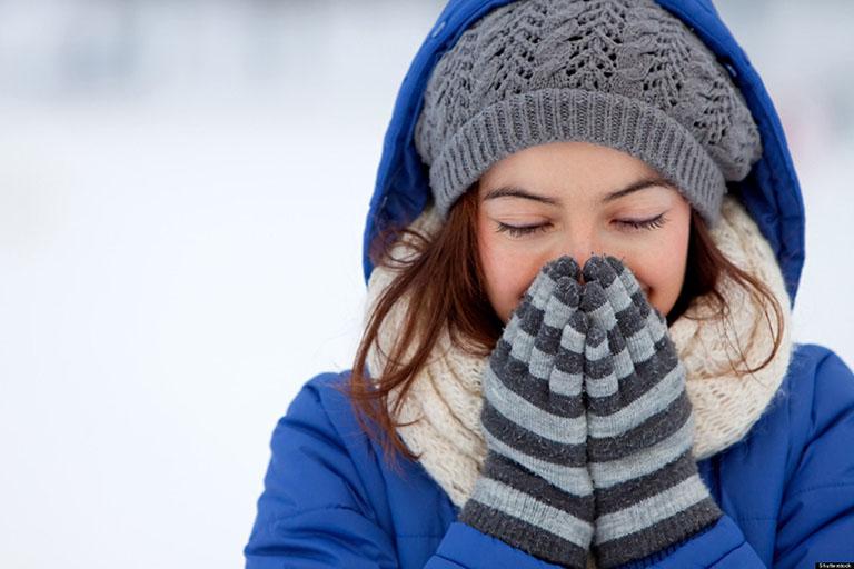 Phòng ngừa dị ứng thời tiết vào mùa đông