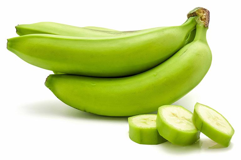 cách dùng chuối xanh chữa hắc lào