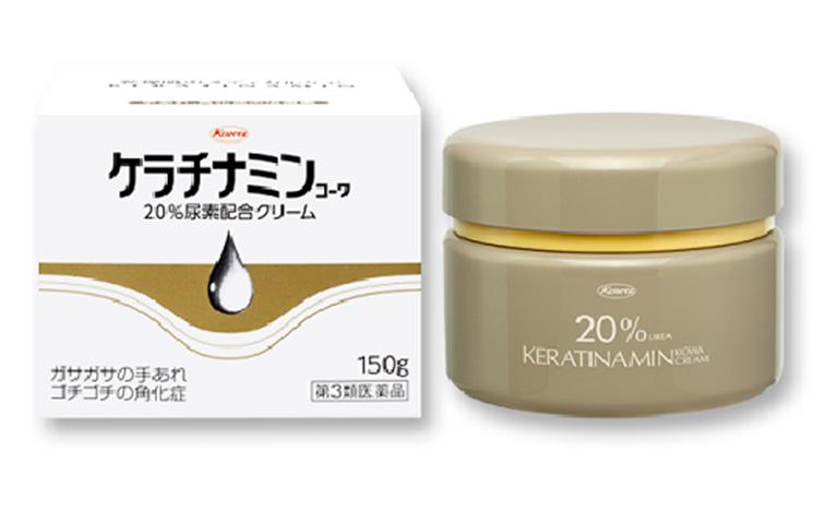 kem bôi trị vảy nến của Nhật