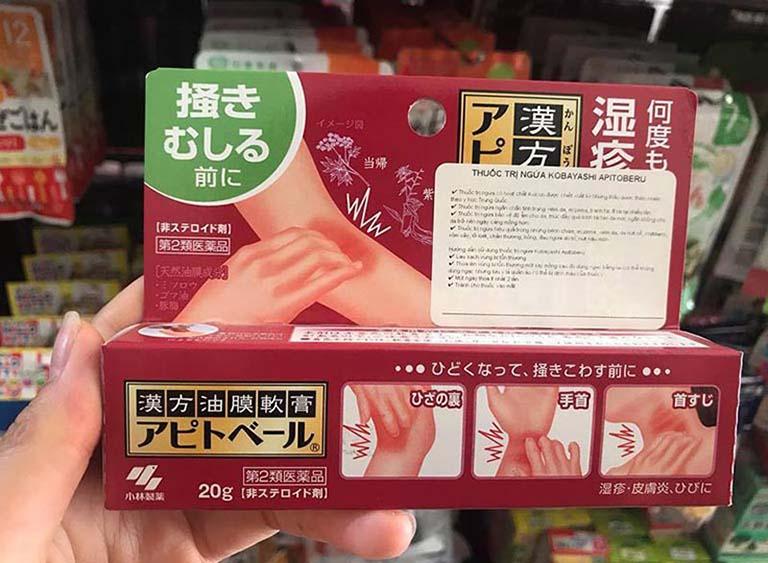 thuốc trị vảy nến của Nhật
