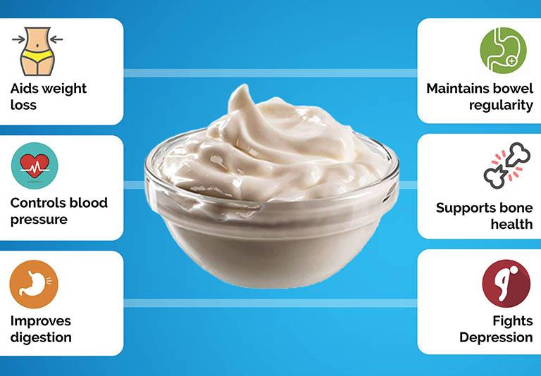 Sữa chua là thực phẩm mang đến nhiều lợi ích cho sức khỏe, đặc biệt là hệ tiêu hóa
