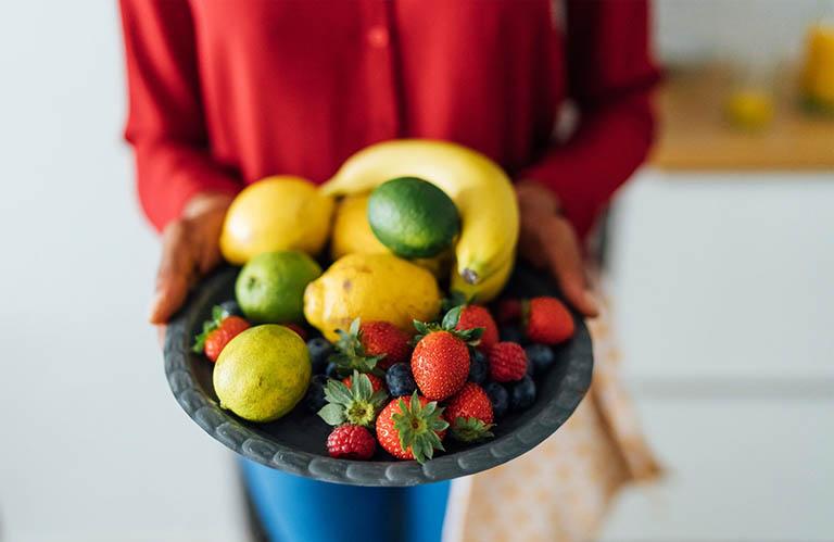 xuất huyết dạ dày an hoa quả gì