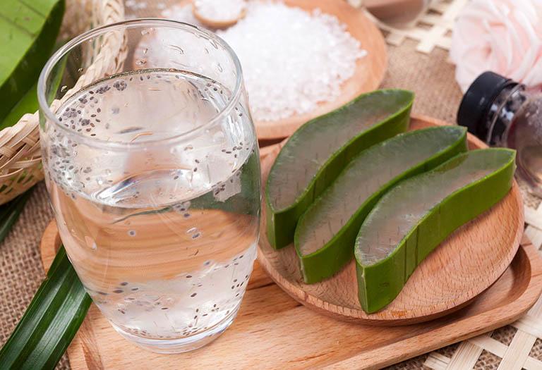 Nước nha đam hạt chia có tác dụng trung hòa dịch vị