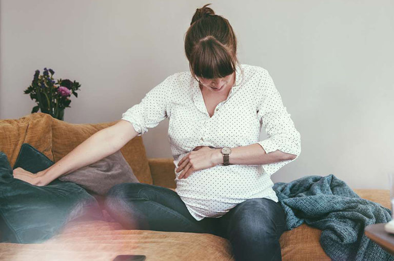đau thượng vị khi mang thai