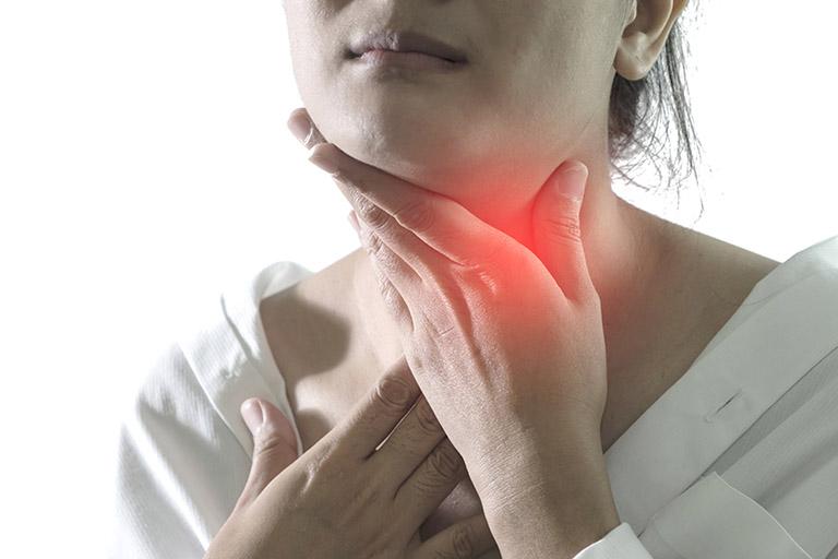 trào ngược dạ dày gây viêm họng