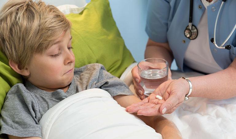 Chẩn đoán và điều trị xuất huyết dạ dày ở trẻ em