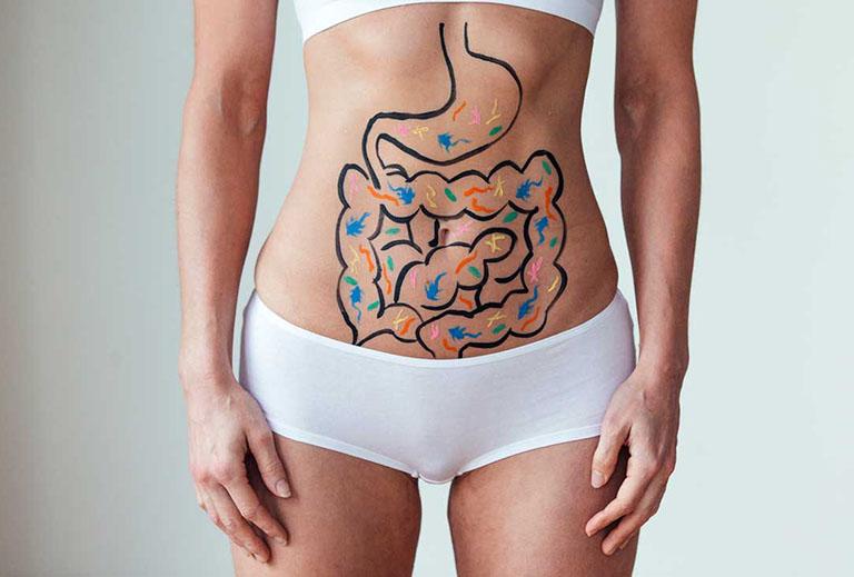 đau bụng trên kèm đi ngoài phân lỏng là bị gì