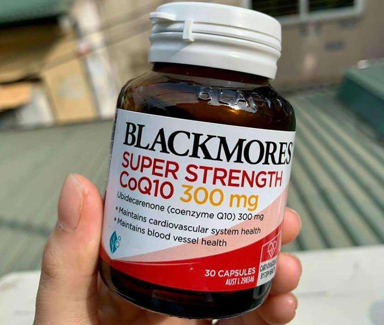 Blackmores Super Strength CoQ10 300 mg có xuất xứ từ Úc và giúp nâng cao sức khỏe tim mạch