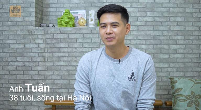 Anh Tuấn chia sẻ bản thân an tâm sử dụng bài thuốc Sinh lý nam Đỗ Minh vì thảo dược lành tính
