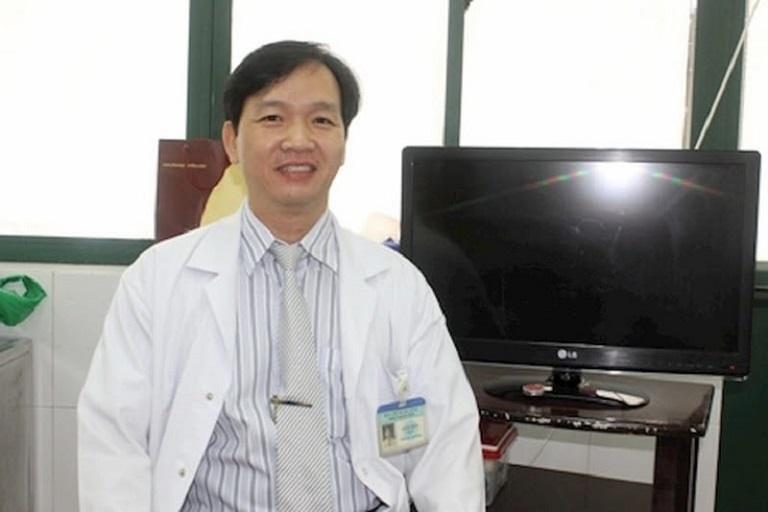 Bác sĩ Lê Văn Mười hiện đang công tác tại Bệnh viện C Đà Nẵng