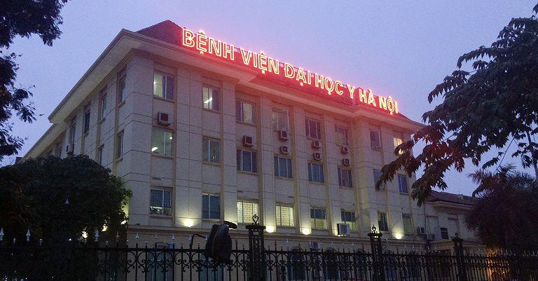 Bệnh viện Đại học Y Hà Nội là địa chỉ chữa bệnh crohn hiệu quả