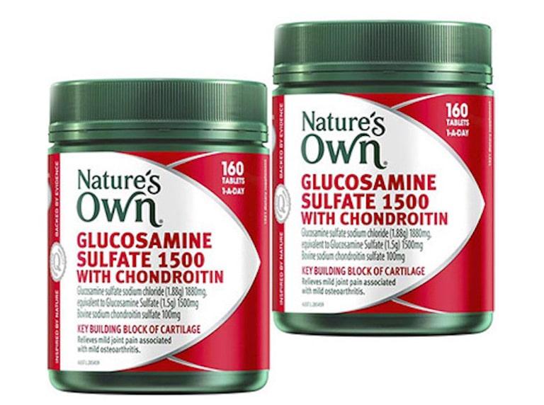 Nature's Own Glucosamine Sulfate 1500mg - Bị khô khớp nên uống thuốc gì?