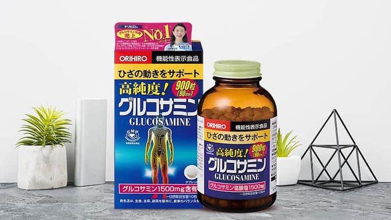 Sử dụng viên uống Orihiro Glucosamine đến từ Nhât Bản