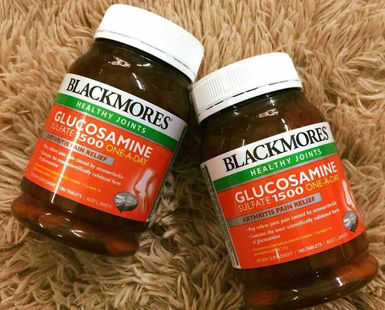 Bị khô khớp nên uống thuốc gì? - Blackmores Glucosamine