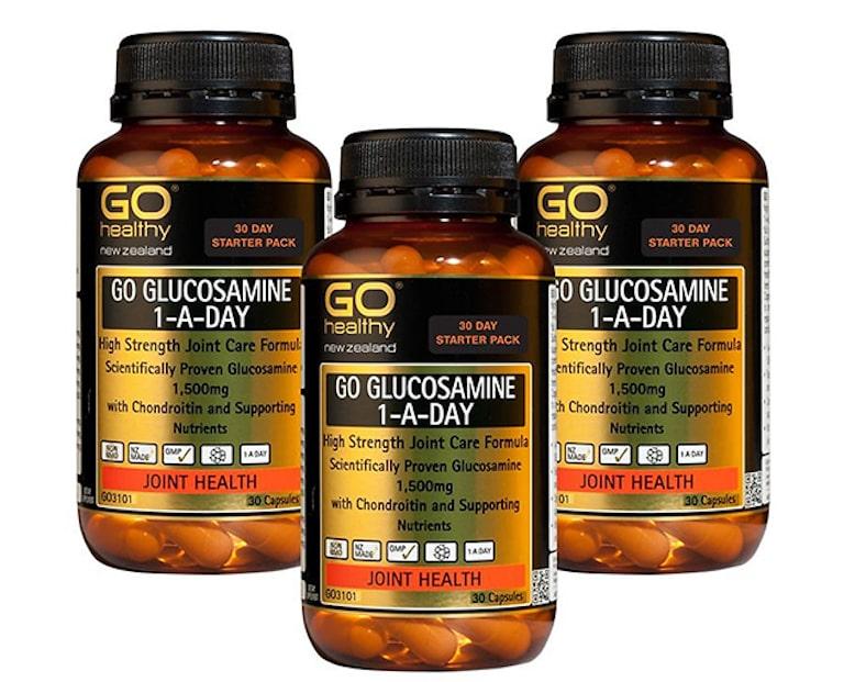 Viên uống Go Healthy New Zealand Go Glucosamine 1 – A – Day 1500mg là sự lựa chọn hàng đầu