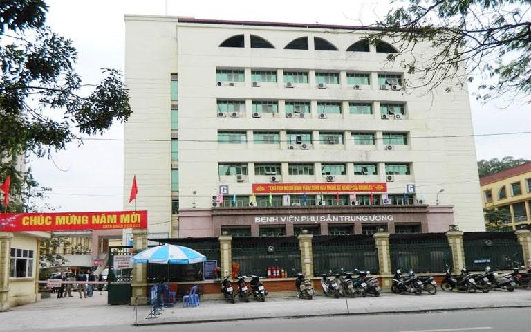 Bệnh viện phụ sản Trung Ương tại Hà Nội là địa chỉ khám chữa uy tín cho chị em