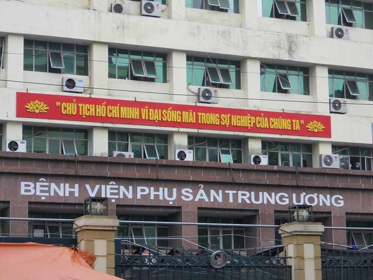 Bệnh viện Phụ sản Trung ương là địa chỉ chữa bệnh uy tín