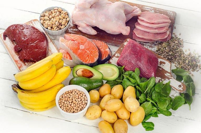 Các thực phẩm giàu vitamin B6 mà người đau dây thần kinh liên sườn nên ăn