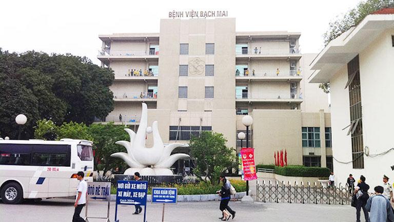 Khoa Cơ xương khớp của bệnh viện Bạch mai Hà Nội là địa chỉ đo loãng xương hiệu quả