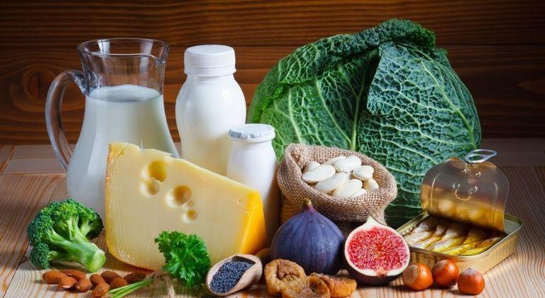 Bạn nên tích cực dùng thực phẩm nhiều khoáng chất và vitamin