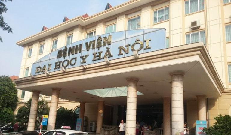 Trung tâm Y tế số 1 thuộc BV Đại học Y Hà Nội là địa chỉ điều trị uy tín