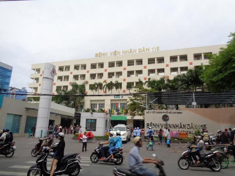 Bệnh viện Nhân dân 115 là một địa chỉ điều trị uy tín