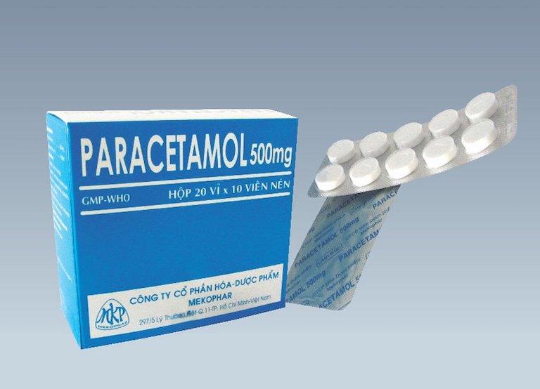 Paracetamol nằm trong nhóm thuốc điều trị phổ biến, giúp giảm đau nhanh và hạ sốt hiệu quả