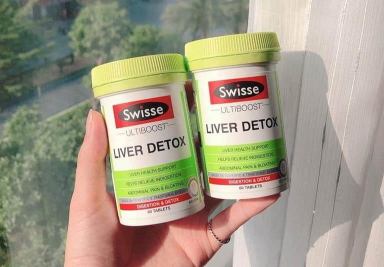 Viên uống Liver Detox là sản phẩm đến từ thương hiệu Swisse của Úc
