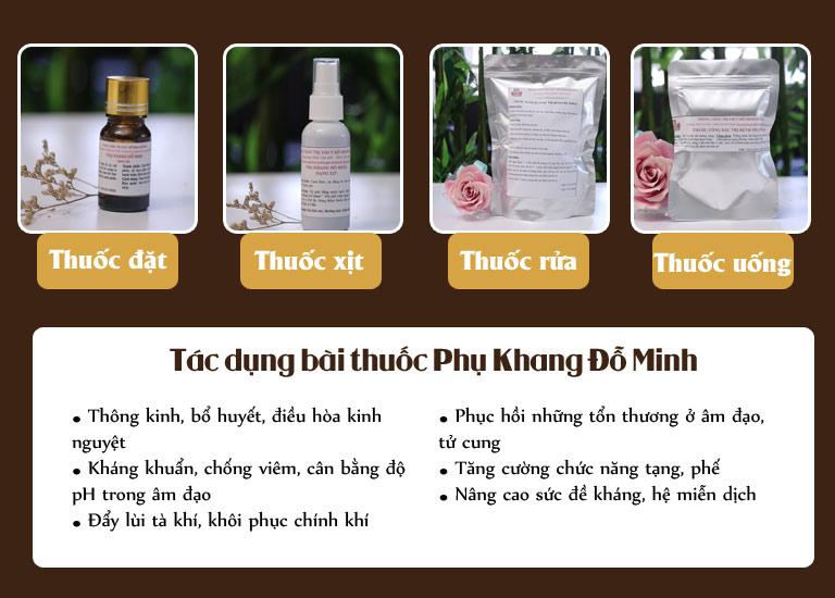 Bài thuốc Phụ Khang Đỗ Minh của nhà thuốc Đỗ Minh Đường