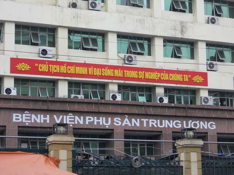Bệnh viện Phụ sản TW chữa nấm âm đạo