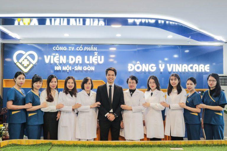 Viện Da liễu Hà Nội Sài Gòn chữa bệnh uy tín