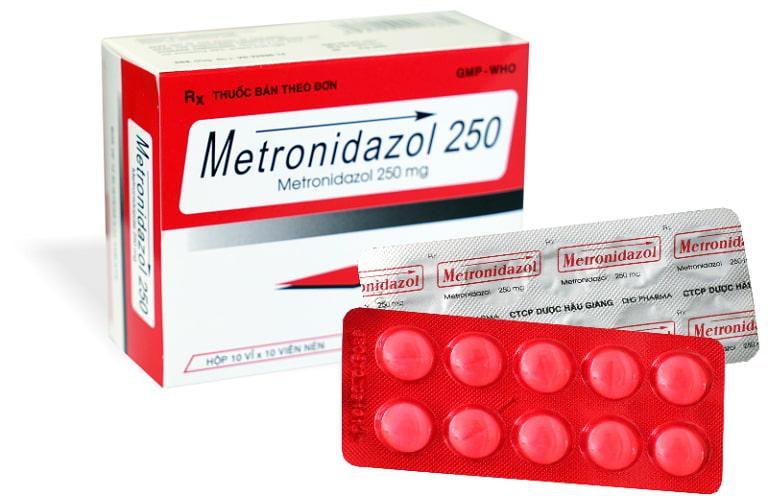 Thuốc metronidazole giúp điều trị tình trạng âm đạo bị viêm nhiễm