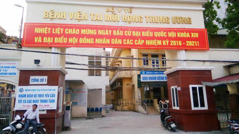 Khám chữa bệnh tại bệnh viện TMH Trung Ương Hà Nội