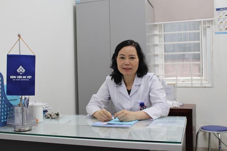 Bác sĩ An từng công tác tại bệnh viện Tai mũi họng Trung Ương và có hơn 25 kinh nghiệm