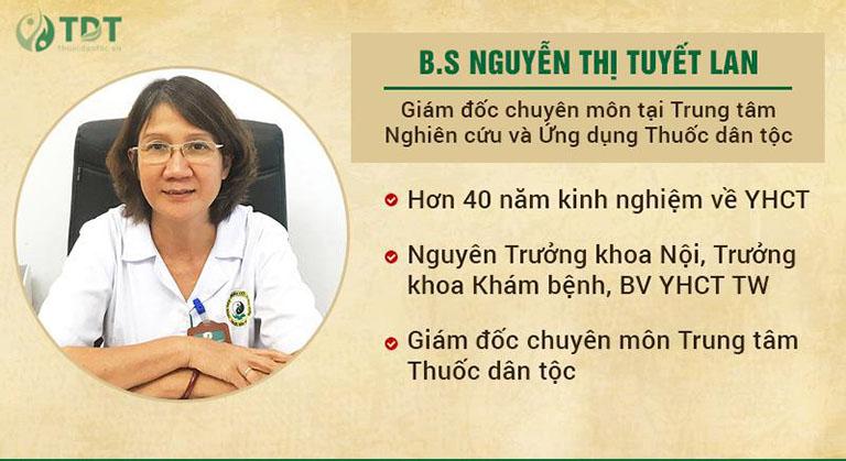 Bác sĩ Nguyễn Thị Tuyết Lan chữa xương khớp giỏi
