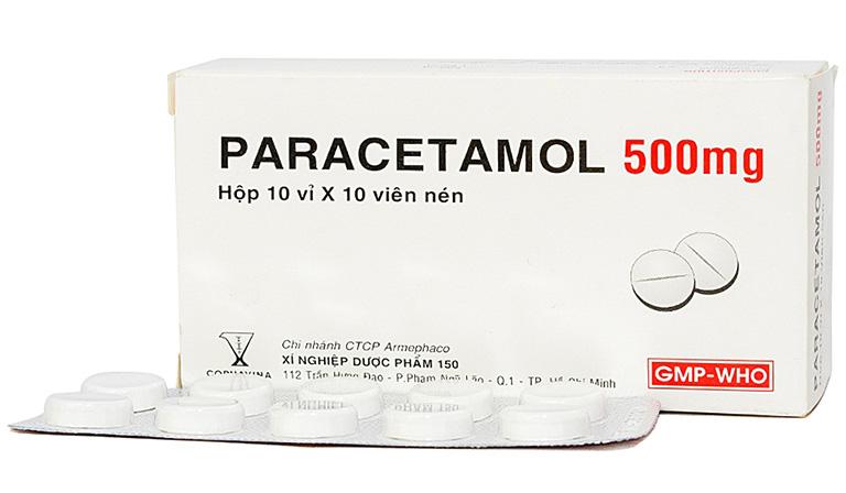 Người bệnh có thể dùng Paracetamol để giảm triệu chứng đau nhức xoang