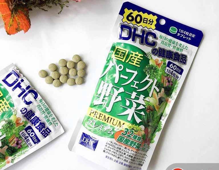 Viên uống rau củ DHC Perfect Vegetable đến từ thương hiệu DHC nổi tiếng của Nhật Bản
