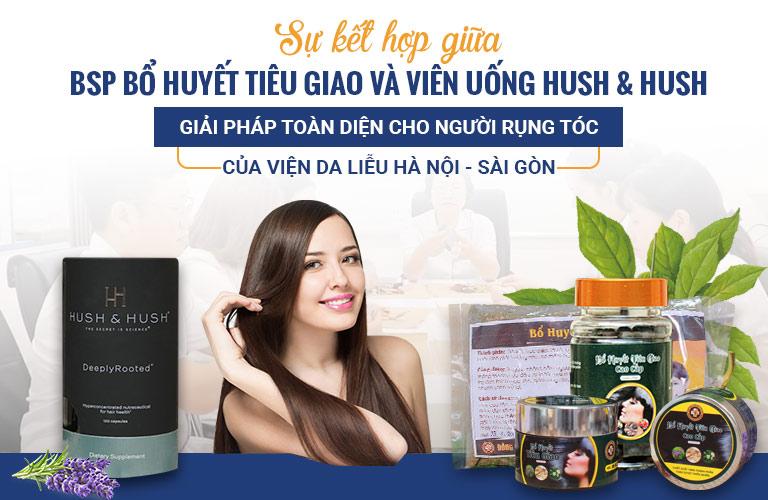 Viên uống Hush & Hush nâng cao hiệu quả của bài thuốc