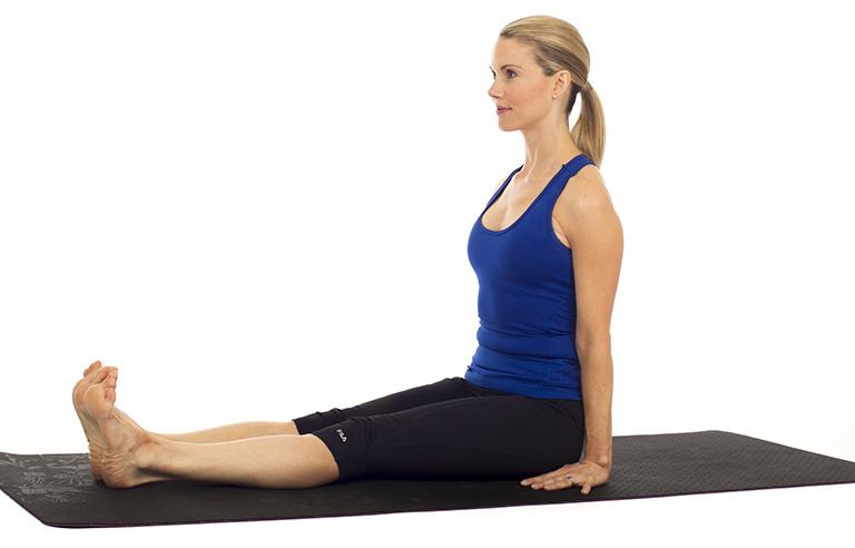 Bài tập chữa viêm đại tràng: Yoga bụng