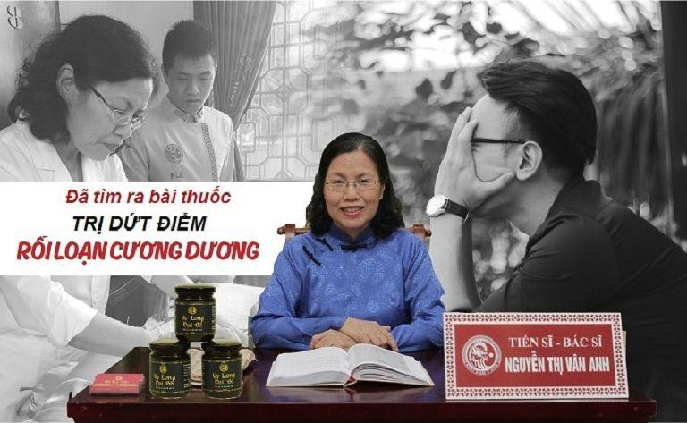 TS.BS Nguyễn thị Vân Anh - người có hơn 30 năm kinh nghiệm khám chữa bệnh theo YHCT