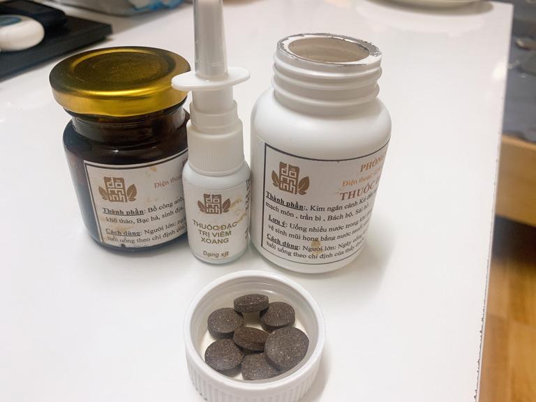 Bài thuốc viêm mũi dị ứng, viêm xoang Đỗ Minh Đường có dạng thức hiện đại, dễ sử dụng