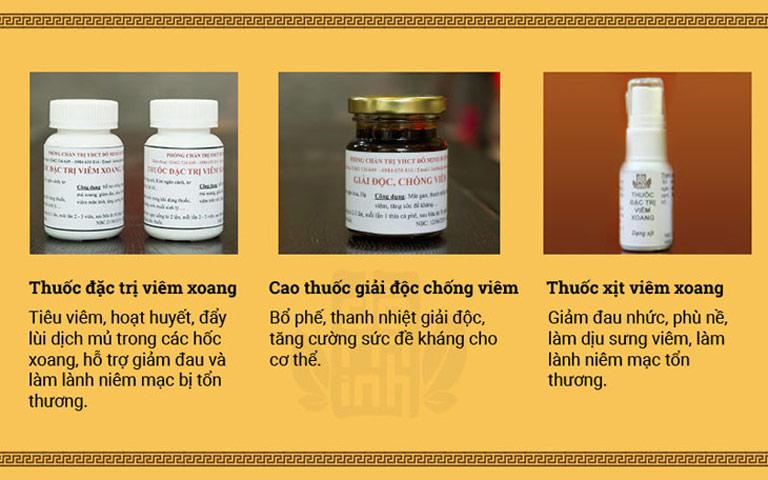 Tác dụng bài thuốc viêm xoang, viêm mũi dị ứng dòng họ Đỗ Minh