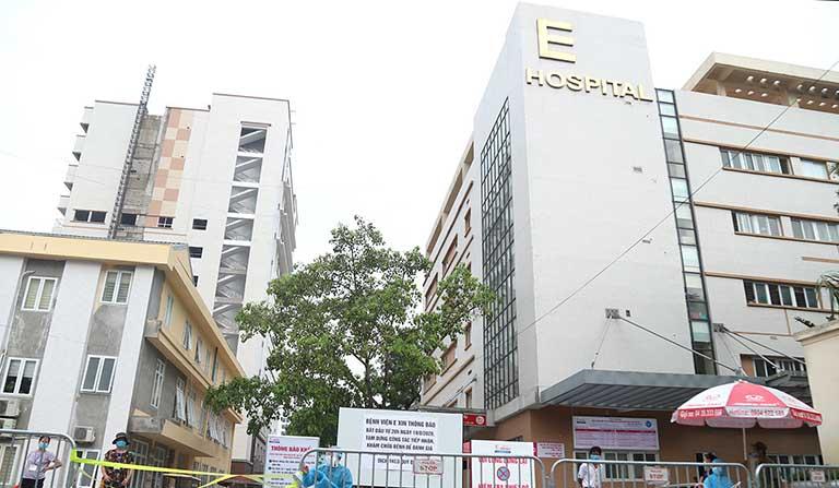 Bệnh viện E Hà Nội chữa trị bệnh tiết niệu