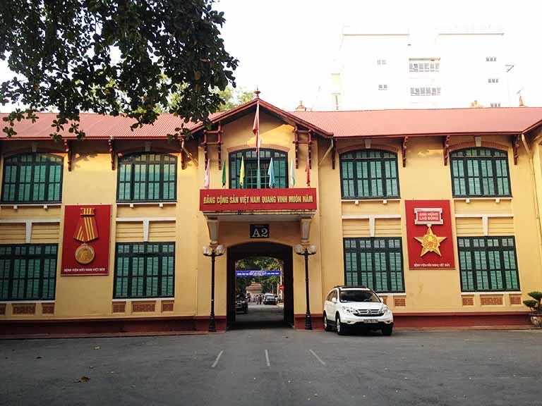 Bệnh viện Việt Đức là địa chỉ chữa bệnh uy tín hàng đầu