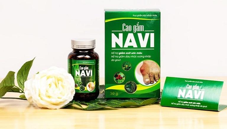 Cao Gắm Navi là sản phẩm hỗ trợ trị gout