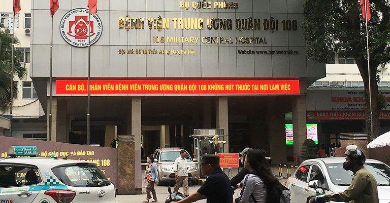 Chữa gout ở Hà Nội tại Bệnh viện Trung ương Quân đội 108