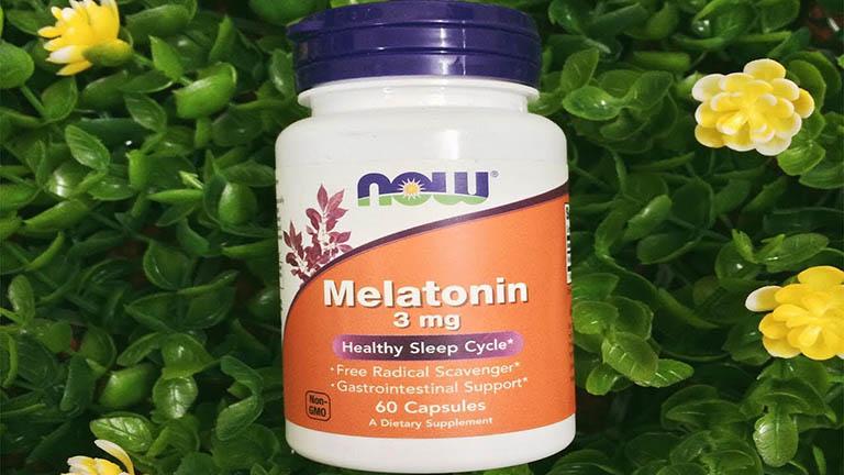 Now Melatonin 3mg là sản phẩm đến từ Mỹ và đạt tiêu chuẩn GMP